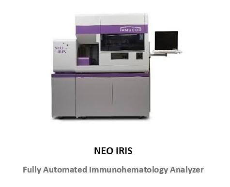 Immucor NEO-IRIS